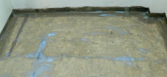przedpokój, płyta pokryta woderem
