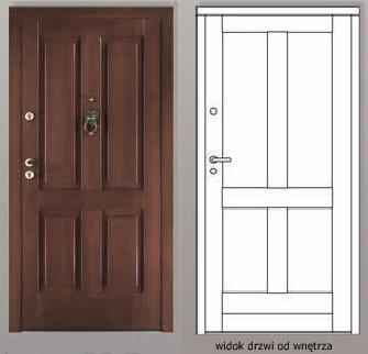 Drzwi CAL - CAL101